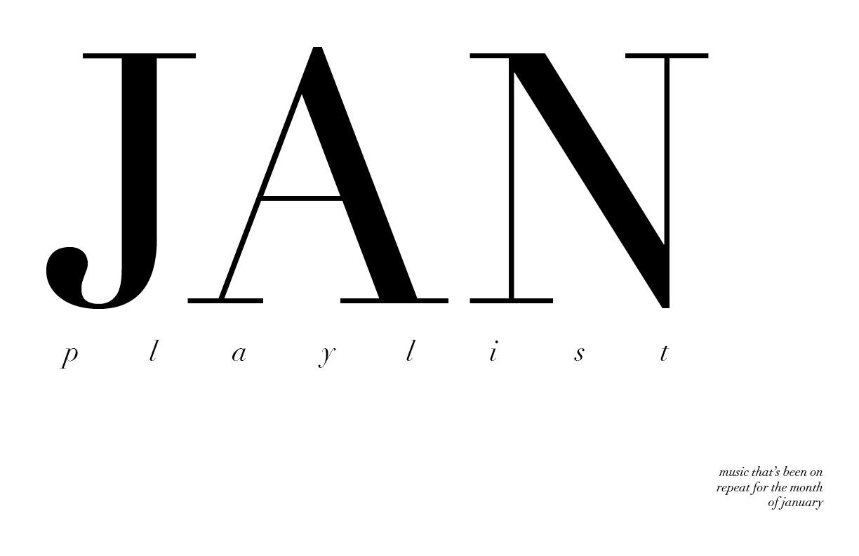 jan playlist